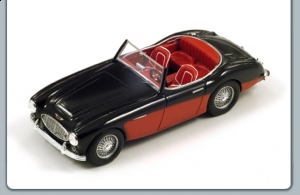 SPARK - 1:43 Austin Healey A100/6 black red 1957 - S0811