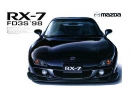 Aoshima - 1:24 RX-7(FD3S) 1998 MODEL - Plastic Kit - AOS-036327