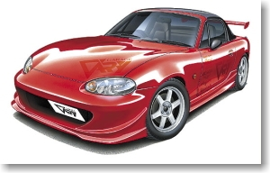 Aoshima - 1:24  MAZDA MX5 NB8C ROADSTER Plastic Kit - AOS-40904