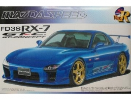 Aoshima - 1:24 MAZDA FD3S RX7 A-SPEC TYPE GT-C Plastic Kit - AOS-42175
