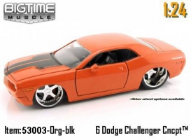 Jada Toys - 1:24 BTM \'06 DODGE CHALLENGER - JA-53003 ORANGE HEMI