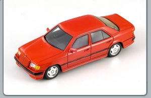 "SPARK - 1:43 MERCEDESS-BENZ 300E AMG :THE HAMMER"" 1987 RED - S01042"