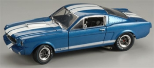 Shelby Collectibles - 1:18 '66 Shelby GT-350R Race Blue/White - DC-350R2