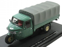 EBBRO - 1:43 DAIHATSU CM 3-wheel '62 canvas green - EB-43968