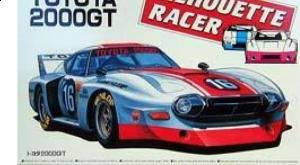 Aoshima - 1:24 TOYOTA 2000 GT SILHOUETTE RACER SLOT CAR KIT - Plastic Kit - AOS-16640