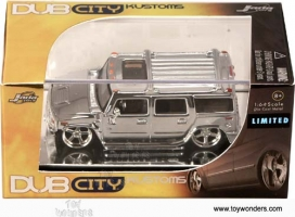 Jada Toys - 1:64 KUSTOMS HUMMER H2 CHROME EDITION - JA-91139