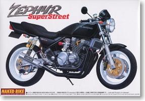 Aoshima MOTO - 1:12 KAWASAKI ZEPHYR SUPER STREET plastic kit - AOS-43851