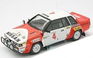 BIZARRE - 1:43 NISSAN 240 RS #4 SAFARI RALLY 1985 - BZ-338