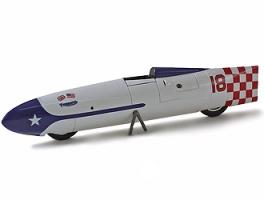 BIZARRE - 1:43 Triumph Bonneville Record  1956     - BZ559