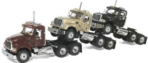 First Gear - 1:64 MACK GRANITE TRIO PIGGY BACK SET - FG-60-0014