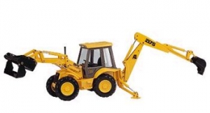 Joal - 1:35 JCB 4CX CENTREMOUNT BACKHOE LOADER - JO-185