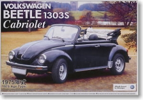 Aoshima - 1:24 VOLKSWAGEN BEETLE 1303S CABRIOLET 1975 Plastic Kit - AOS-047798
