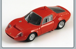 SPARK - 1:43 ABARTH OT 2000 1970 RED - S01314
