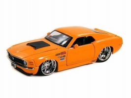 Jada Toys - 1:24 BTM-'70 MUSTANG BOSS 429 ORANGE - JA-90022-PS-ORANGE