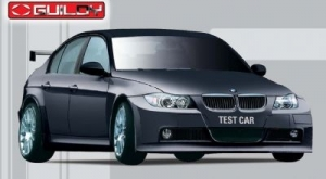 Guiloy - 1:18 BMW 320si WTCC Black Test Car - GUI-67504