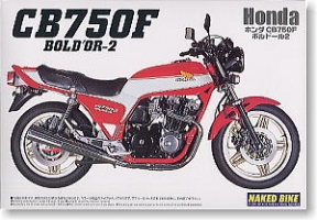 Aoshima MOTO - 1:12 HONDA CB750F BOLDOR-II plastic kit - AOS-42496