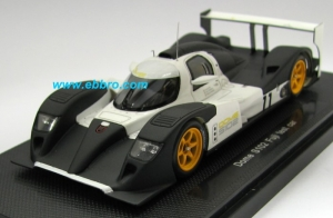 EBBRO - 1:43 DOME S102 FUJI 2008 TEST CAR (LE MANS SPEC.) - EB-44070