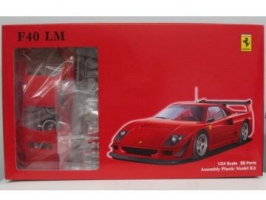 Fujimi - 1:24 FERRARI F40 Le Mans plastic kit - FU-123080
