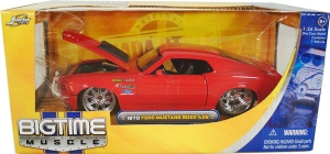 Jada Toys - 1:24 BTM-'70 MUSTANG BOSS 429 RED - JA-90022-PS-RED