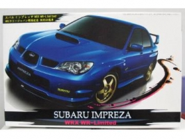 Fujimi - 1:24 SUBARU IMPREZA WRW WR Limited Version plastic kit - FU-18911