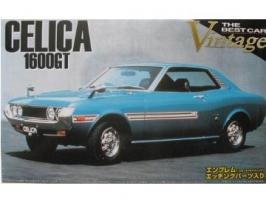 Aoshima - 1:24 1972 TA22 TOYOTA CELICA 1600 GT Plastic Kit - AOS-41802