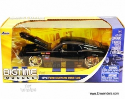 Jada Toys - 1:24 BTM-'70 MUSTANG BOSS 429 BLACK - JA-90022-PS-BLACK