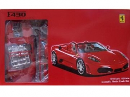 Fujimi - 1:24 FERRARI F430 SPIDER RACING version plastic kit - FU-12269