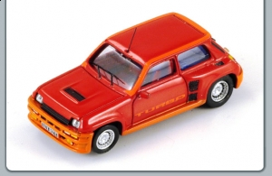 SPARK - 1:87 RENAULT 5 TURBO 1980 MET RED - S016