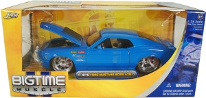 Jada Toys - 1:24 BTM-'70 MUSTANG BOSS 429 BLUE - JA-90022-PS-BLUE