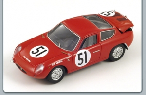 SPARK - 1:43 ABARTH FIAT 700S #51 LM 1962 - S01321