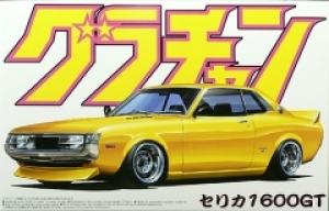 Aoshima - 1:24 TOYOTA CELICA 1600 GT Plastic Kit - AOS-42700