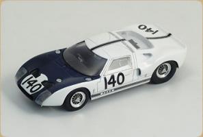 BIZARRE - 1:43 FORD GT40 #140 1000km NURB/ING 1964 1st RACE - BZ-269