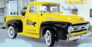 First Gear - 1:25 1956 FORD PICK UP TRUCK - FG-40-0063