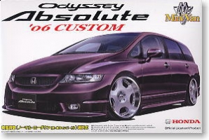 Aoshima - 1:24 ODYSEY ABSOLUTE 2006 CUSTOM Plastic Kit - AOS-38345