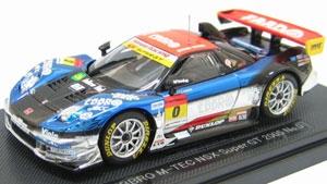 EBBRO - 1:43 HONDA NSX SUPER GT 300 EBBRO M-TEC - EB-43700