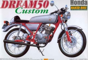 Aoshima MOTO - 1:12 HONDA DREAM 50 CUSTOM plastic kit - AOS-33609